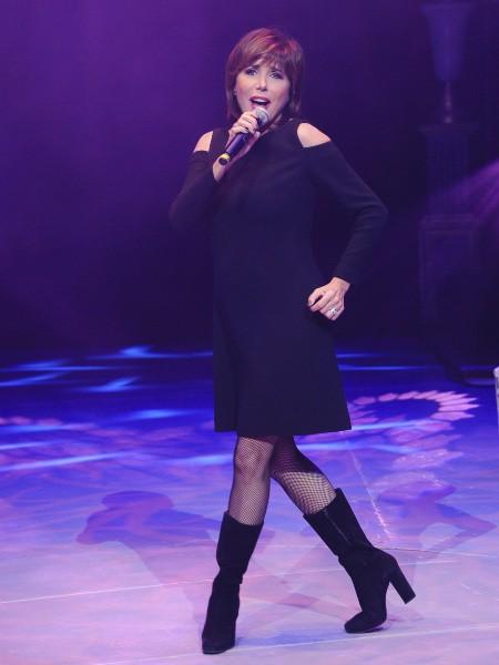 Liane Foly lors du gala de la Fondation pour la recherche sur Alzheimer au Cirque d'Hiver à Paris, le 25 septembre 2013.