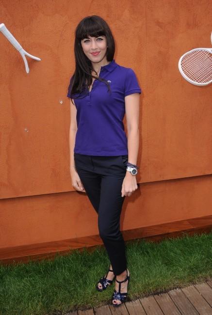 Nolwenn Leroy à Roland-Garros, le 9 juin 2012.