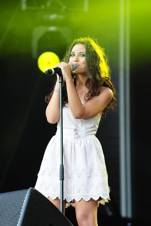 Judith a chanté devant près d'un million de personnes !