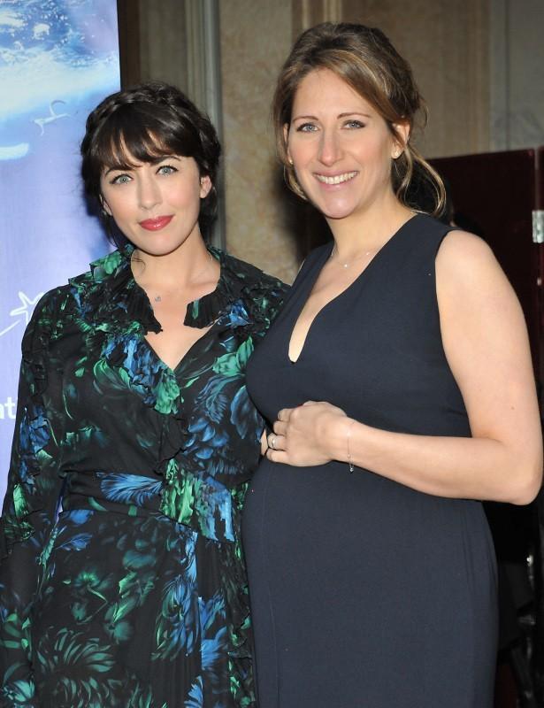 Nolwenn Leroy et Maud Fontenoy lors du gala de la fondation Maud Fontenoy à Paris, le 9 avril 2013.