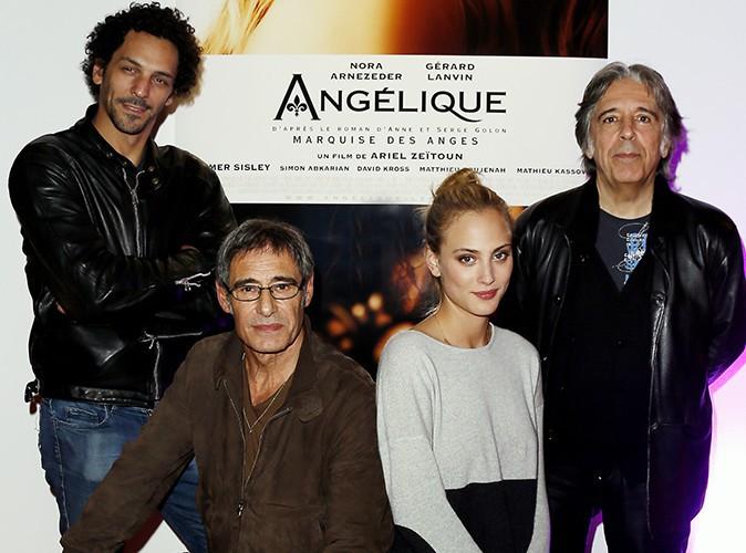 Tomer Sisley, Gérard Lanvin, Nora Arnezeder et Ariel Zeitoun à Sarlat le 12 novembre 2013