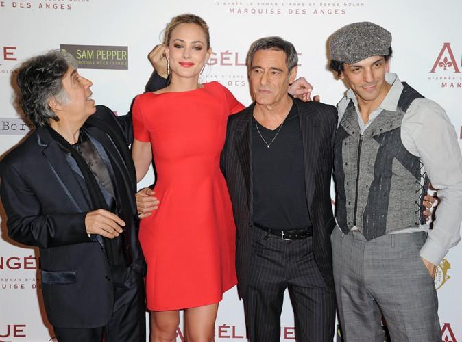 Ariel Zeitoun, Nora Arnezeder, Gérard Lanvin et Tomer Sisley à Paris le 16 décembre 2013