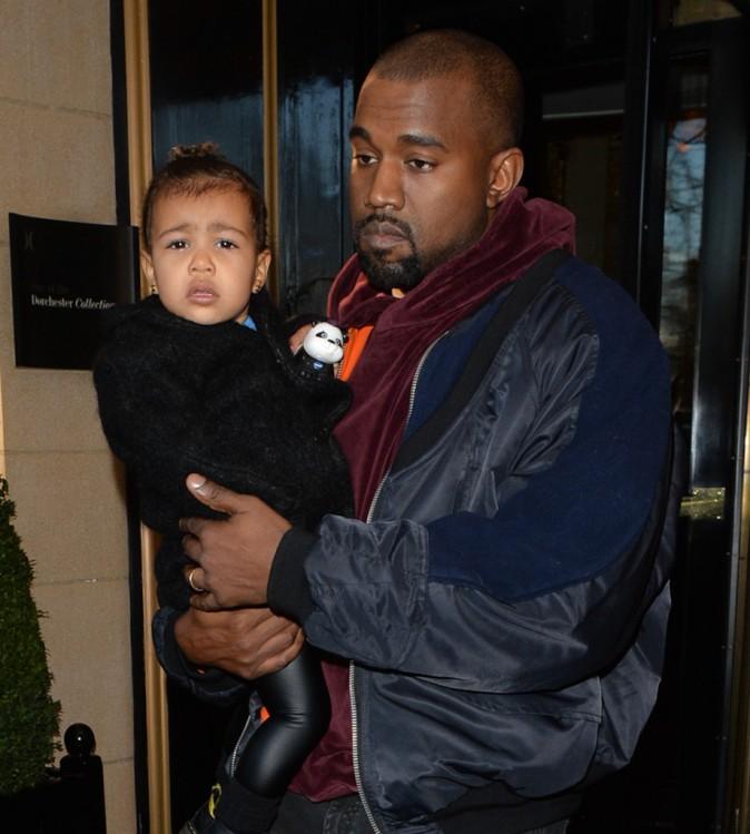Photos : North et Kanye West : c'est la crise à Londres !