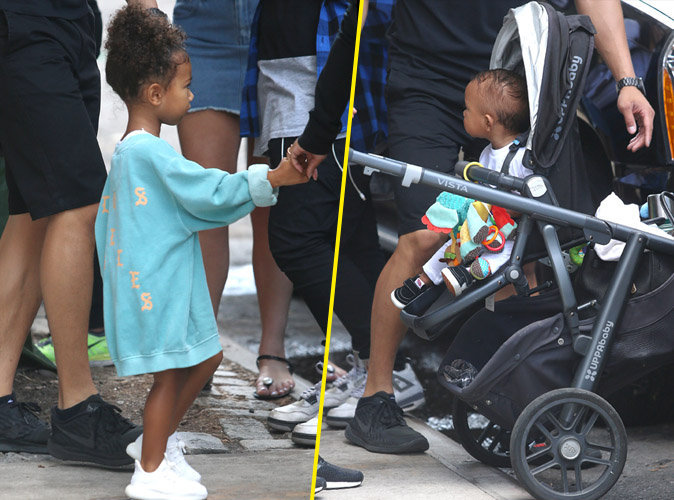 Photos : North et Saint West : mais où sont leurs parents ?