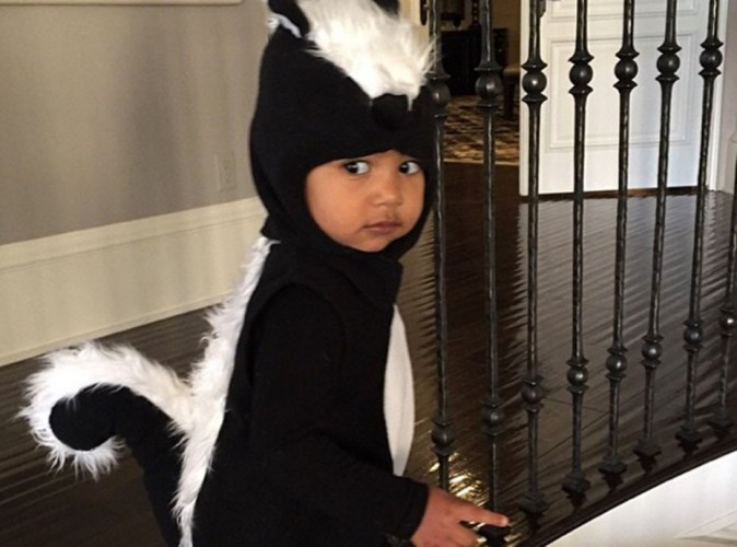North West : � croquer pour Halloween !