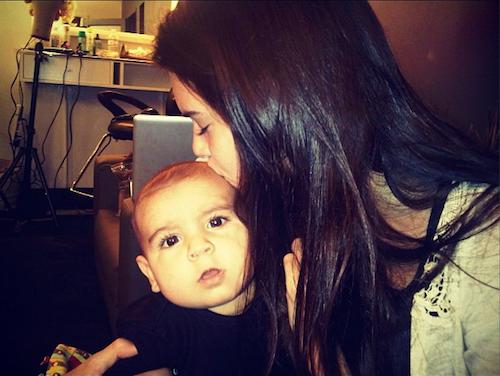 Kendall Jenner et Mason
