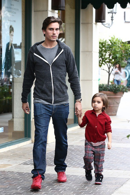 Scott Disick et son fils Mason