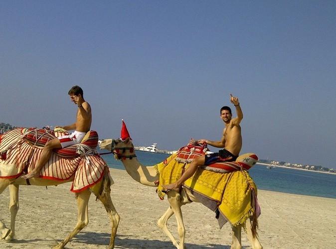 Novak Djokovic et son frère Marko en vacances à Abou Dabi !