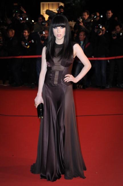 Carly Rae Jepsen le 26 janvier 2013 à Cannes