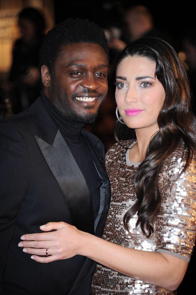 Corneille et sa femme aux NRJ Music Awards 2013 le 26 janvier 2013 à Cannes