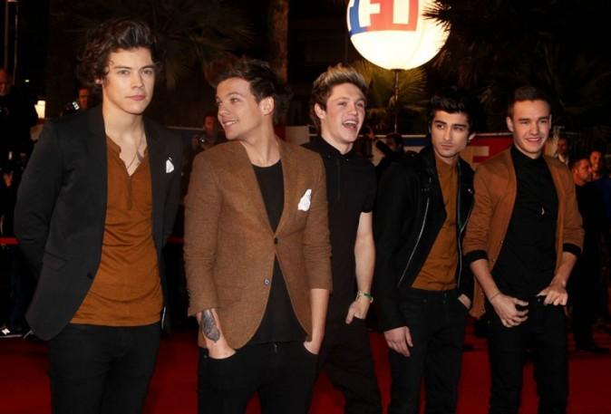 One Direction aux NRJ Music Awards, à Cannes, le 26 janvier 2013