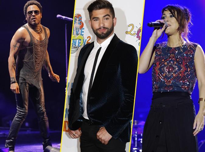 NRJ Music Awards 2014 : Lenny Kravitz, Kendji, Zaz et Calogero confirment leur présence !
