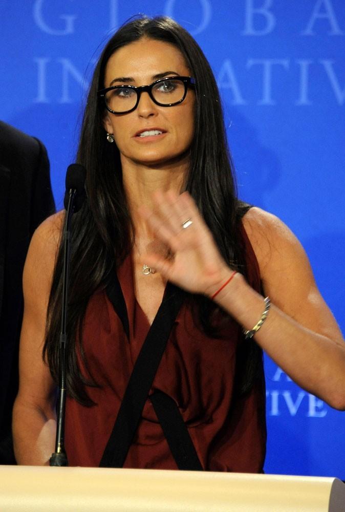 Photos : Demi Moore soutient Barack Obama