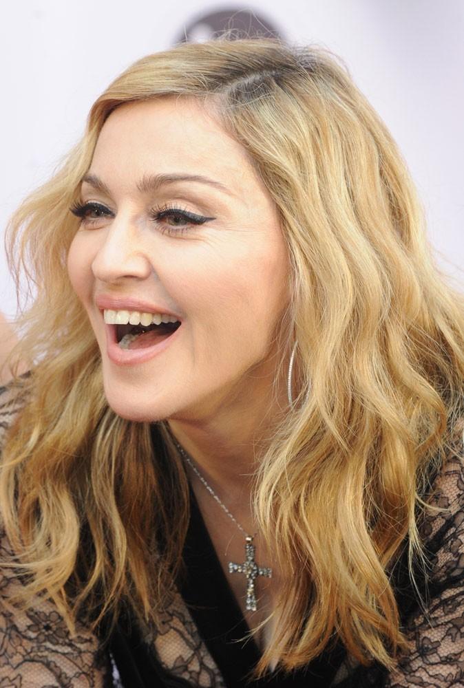 Photos :  Madonna soutient Barack Obama