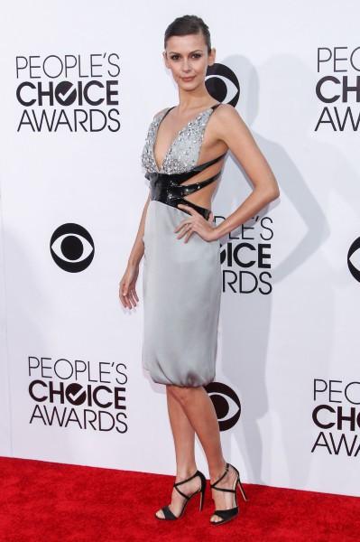 Olga Fonda lors des People's Choice Awards à Los Angeles, le 8 janvier 2014.