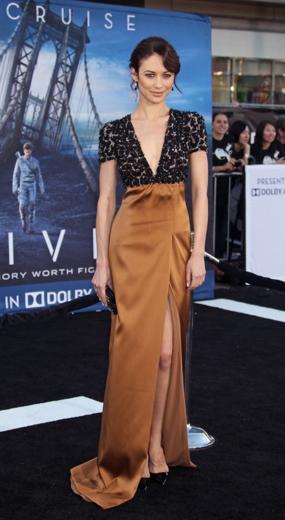 Olga Kurylenko lors de la première du film Oblivion à Hollywood, le 11 avril 2013.