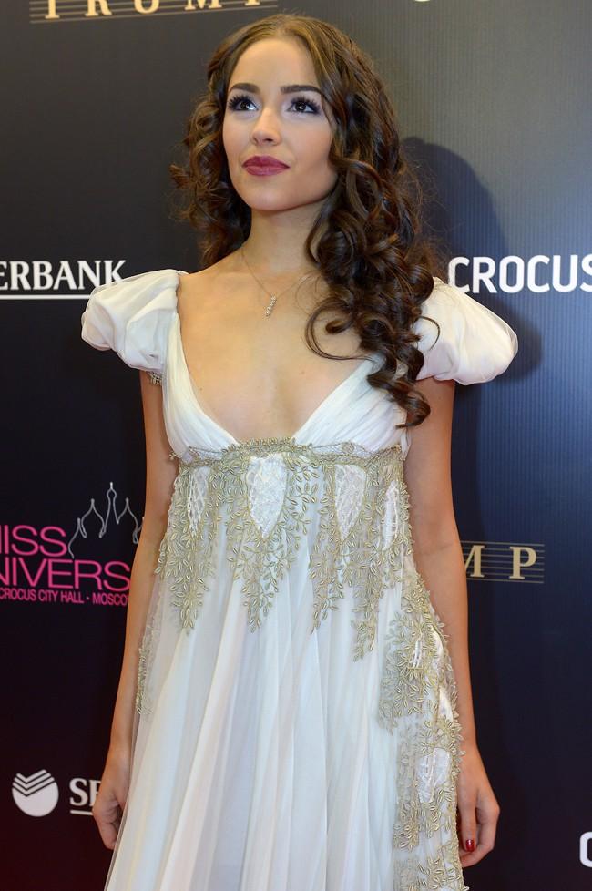 Olivia Culpo au concours de Miss Univers 2013, à Moscou, le 9 novembre 2013