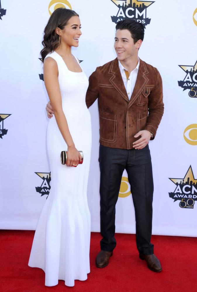 Olivia Culpo et Nick Jonas le 19 avril 2015