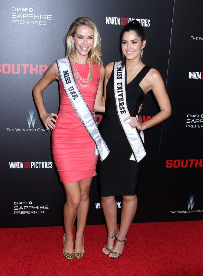 Olivia Jordan et Paulina Vega