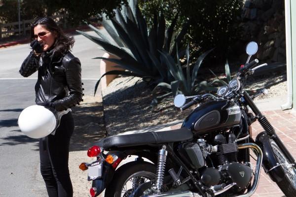 Olivia Munn, Malibu, 6 septembre 2012.