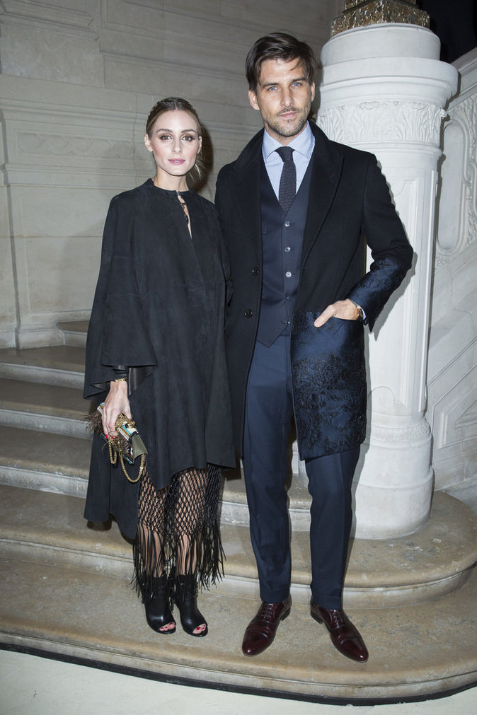 Olivia Palermo en couple fashion chez Valentino!