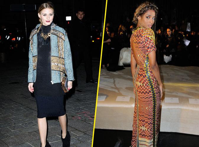 Olivia Palermo et Ciara éclipsent la concurrence à la fashion week de Paris!