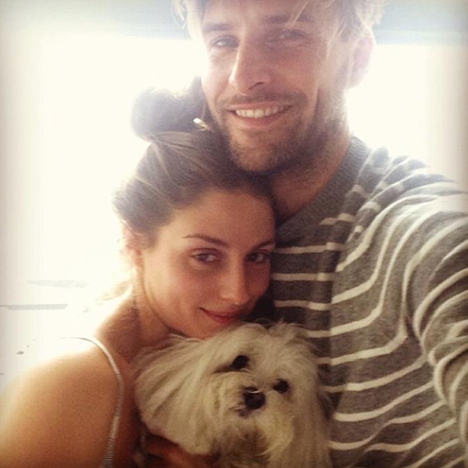 Olivia Palermo et Johannes Huebl ont un chien !