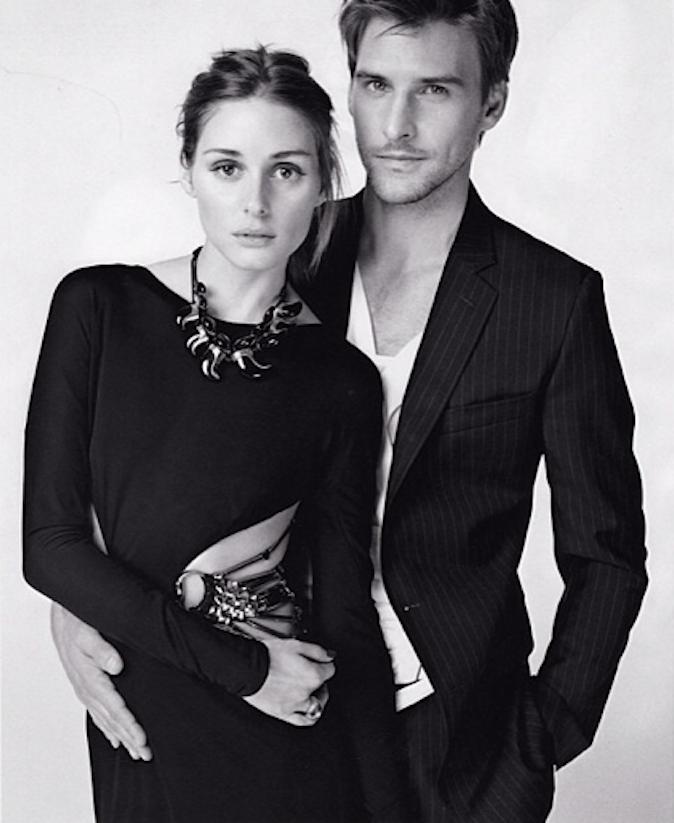 Olivia Palermo et Johannes Huebl pour Elle US !