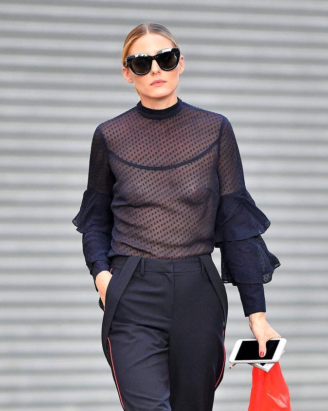 Olivia Palermo à New York le 17 août 2016