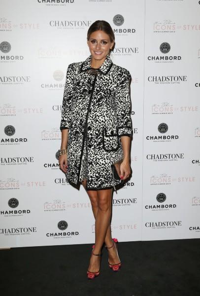 Olivia Palermo lors d'un défilé au Chadstone Shopping Center à Melbourne, le 29 août 2013.