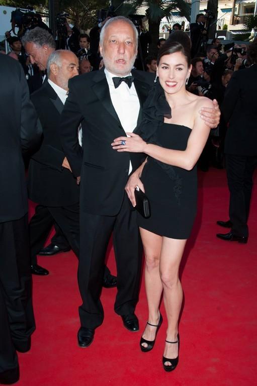 Olivia Ruiz et François Berléand lors du Festival de Cannes, le 15 mai 2011.