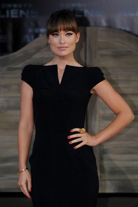 Sexy dans sa robe Tom Ford !
