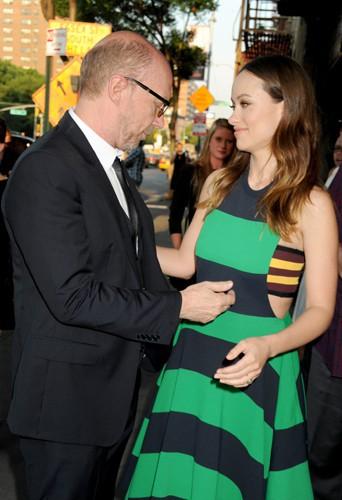 Paul Haggis et Olivia Wilde à New York le 17 juin 2014