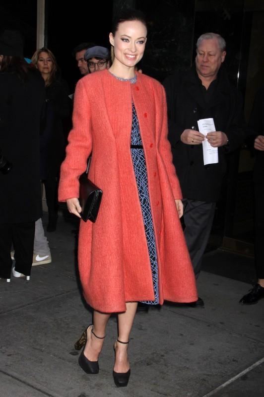 Olivia Wilde le 14 février 2013 à New York