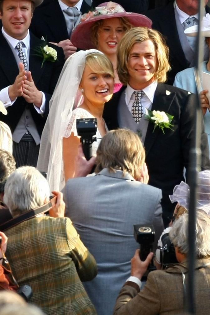 Même s'il n'est pas pluvieux, on leurs souhaite un mariage heureux !