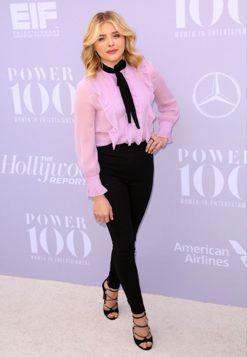 Chloë Moretz à la soirée Women in Entertainment à Los Angeles, le 5 décembre 2015