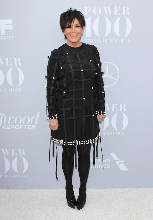 Kris Jenner à la soirée Women in Entertainment à Los Angeles, le 5 décembre 2015