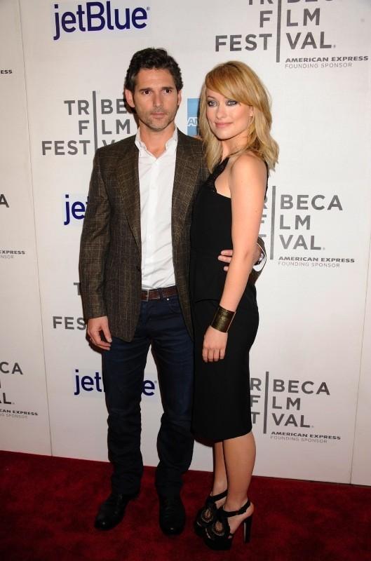 Eric Bana et Olivia Wilde lors de la première du film Deadfall à New York, le 22 avril 2012.