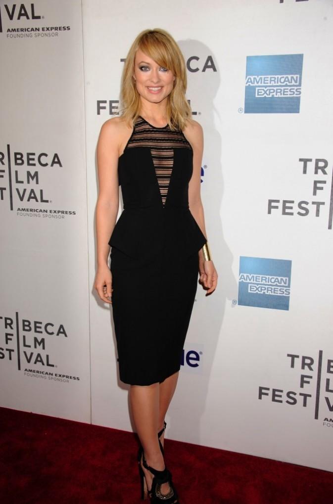 Olivia Wilde lors de la première du film Deadfall à New York, le 22 avril 2012.