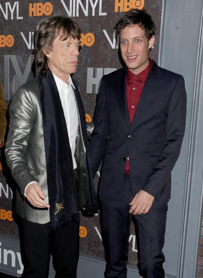 Mick Jagger et son fils James