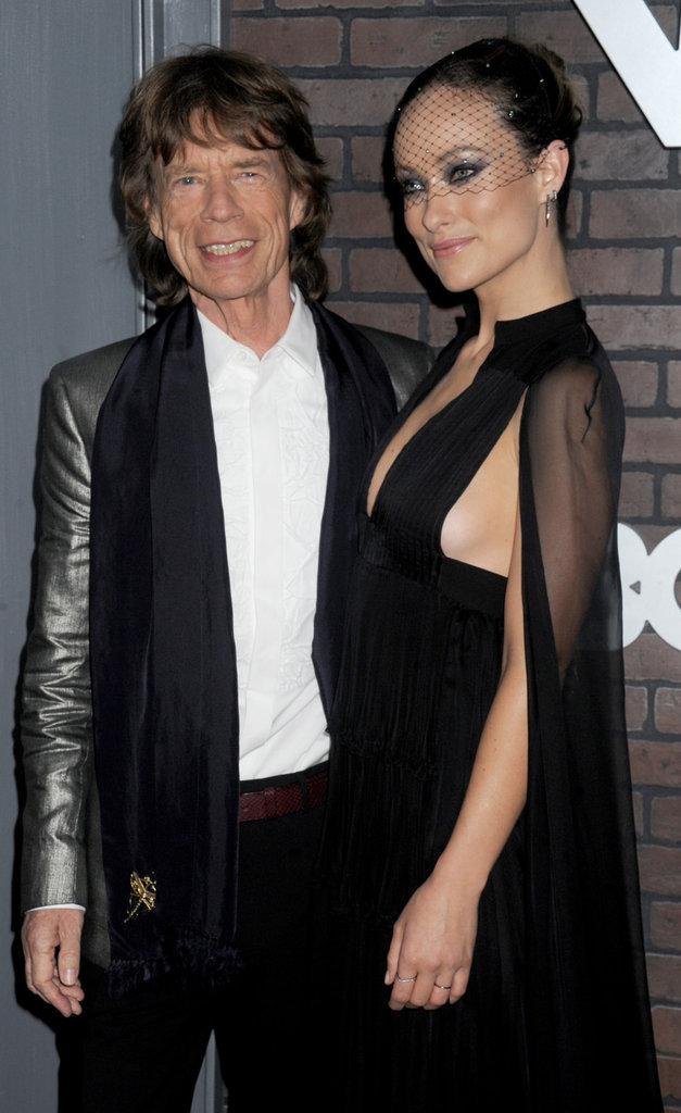 Olivia Wilde et Mick Jagger