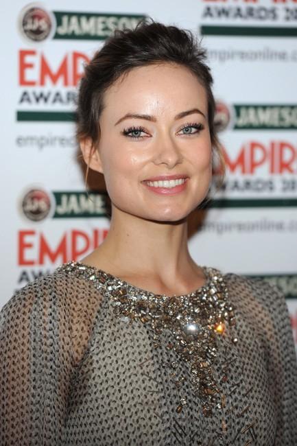 Olivia Wilde à la cérémonie des Empire Awards 2012 à Londres, le 25 mars 2012.