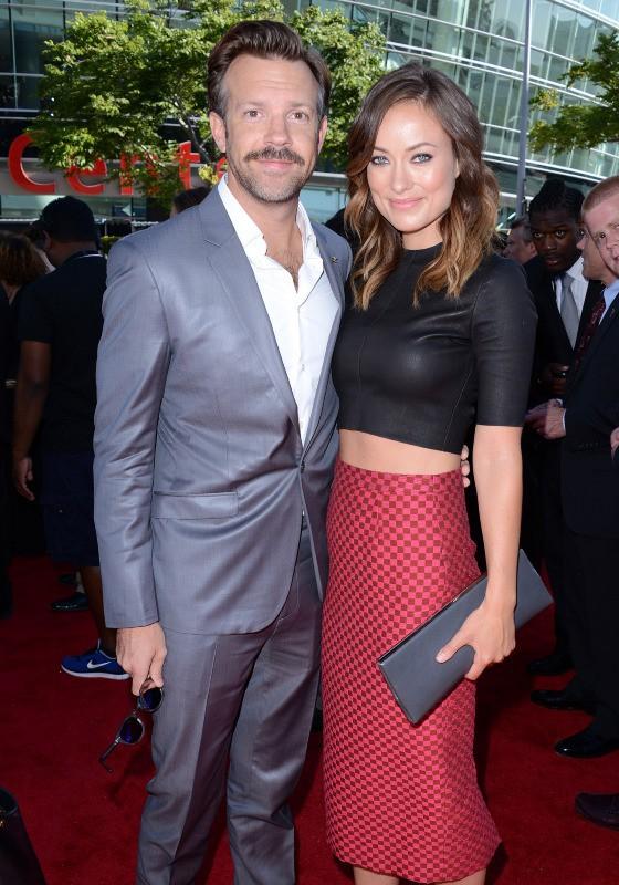 Olivia Wilde et Jason Sudeikis lors des EPSY Awards 2013 à Los Angeles, le 17 juillet 2013.