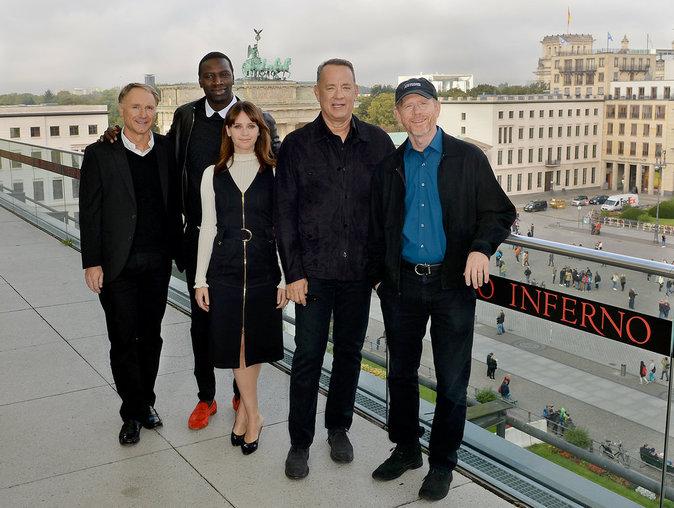 Première du film Inferno à Berlin