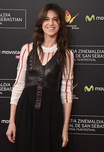 Charlotte Gainsbourg à Saint-Sébastien le 27 septembre 2014