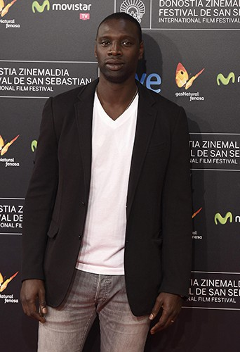 Omar Sy à Saint-Sébastien le 27 septembre 2014