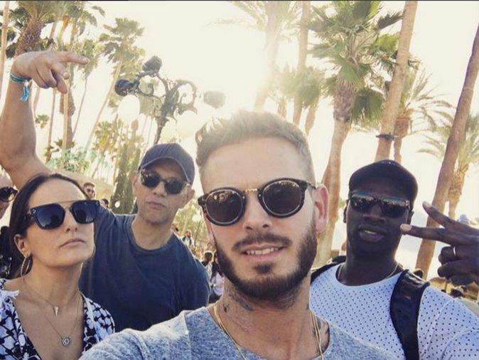 Omar Sy et M Pokora étaient déjà ensemble au Festival de Coachella