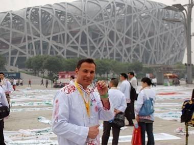 Cyril Rouquet à Pékin pour les premiers JO de la gastronomie