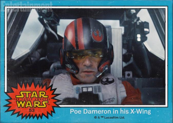 Le pilote de X-Wings Poe Dameron (Oscar Isaac)