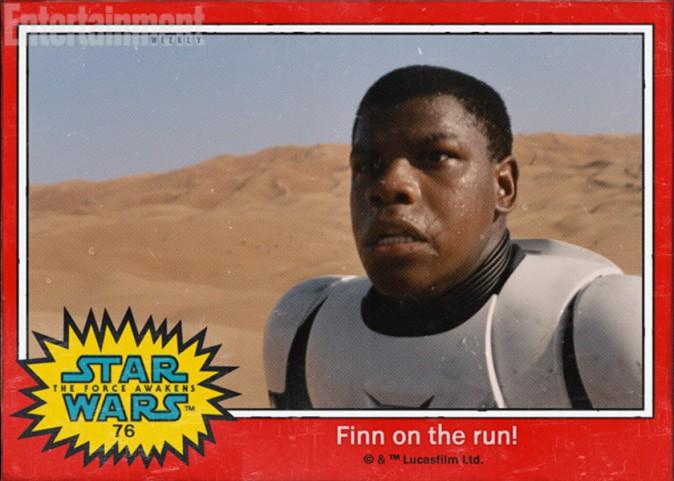 Le Stormtrooper Finn (John Boyega)